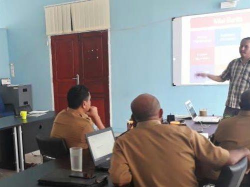 Demi menggenjot publikasi, staf MRP ikuti pelatihan jurnalistik
