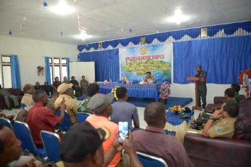 Rapat dengar pendapat MRP bersama masyarakat Kabupaten Yalimo