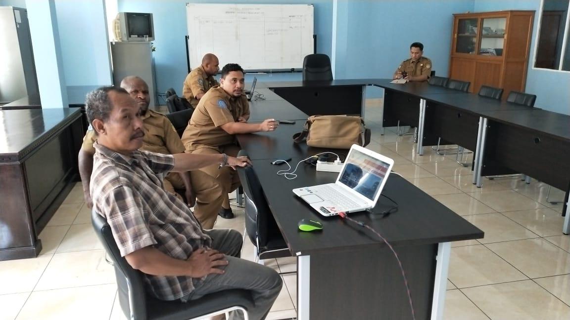Empat orang staf Sekretariat MRP ikuti pelatihan jurnalistik