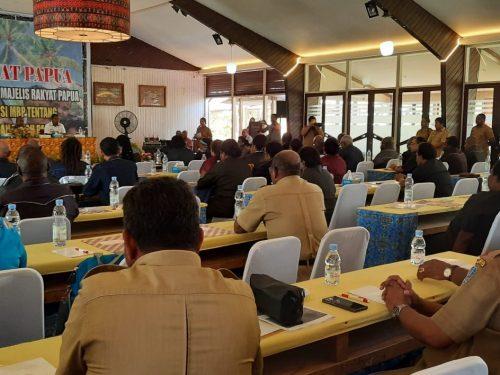 MRP Harap Bimtek Tingkatkan Kualitas Kelembagaan dan Anggotanya