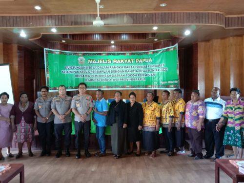 Pokja Perempuan MRP minta PB PON sosialisasikan PON kepada masyarakat adat Port Numbay