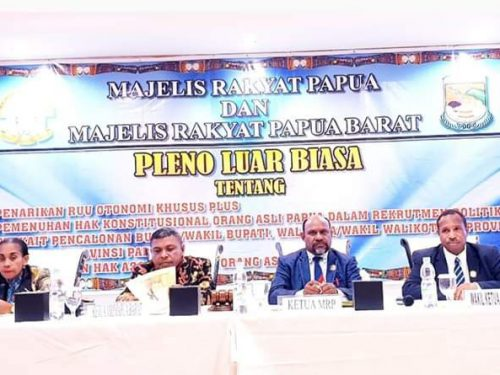 MRP dan MPRB rekomendasikan Pemerintah RI berdialog dengan ULMWP