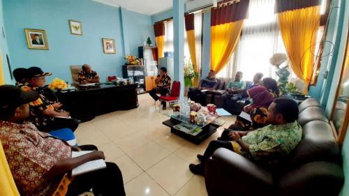 Rapat Persiapan Pendampingan Beberapa Agenda Kegiatan Lembaga MRP - Humas MRP